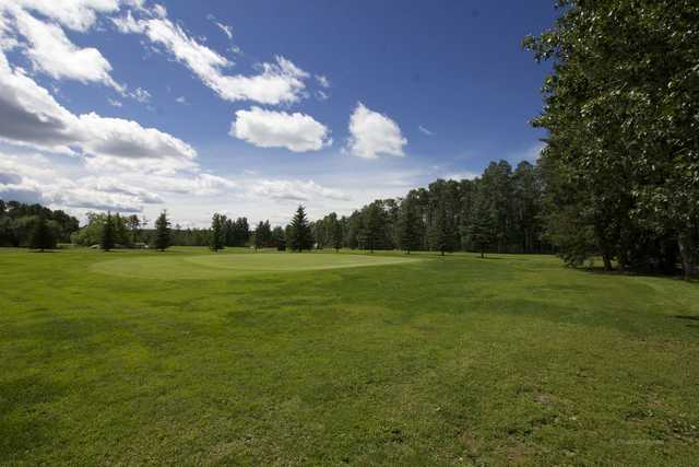 A view of a hole at Pipestone Golf Club