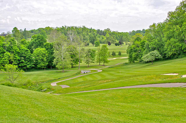 A view from Fire Ridge Golf Course