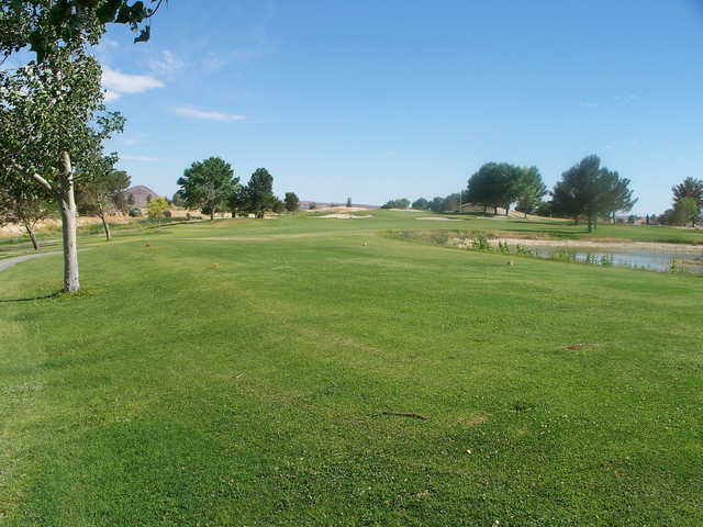 A view from Tierra del Sol Golf Club