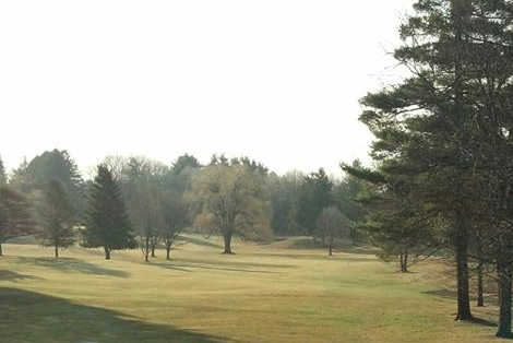 A view of a fairway at Schenectady Golf Course