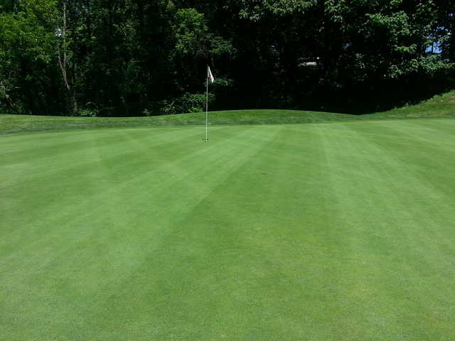A view of a green at JC Melrose Country Club
