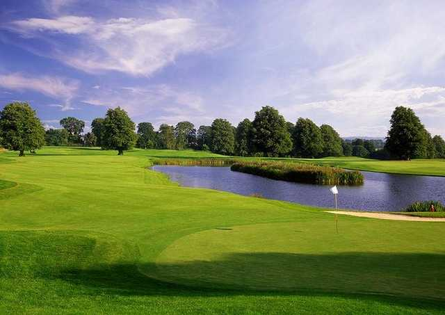A view from hole #18 at Mount Juliet Golf Club