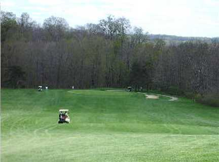 A view from a fairway at Pleasant Hill Golf Course
