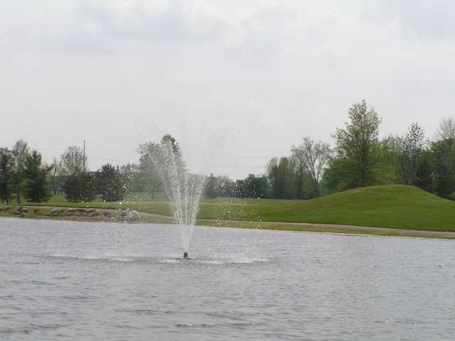 A view over the water from Timberview Golf Club
