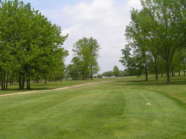 A view from a tee at Timberview Golf Club