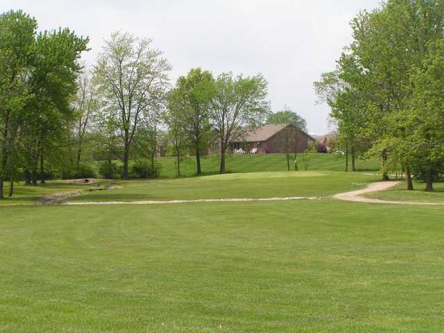 A view from a fairway at Timberview Golf Club