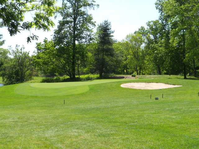 A view hole #8 at Woodhaven Country Club