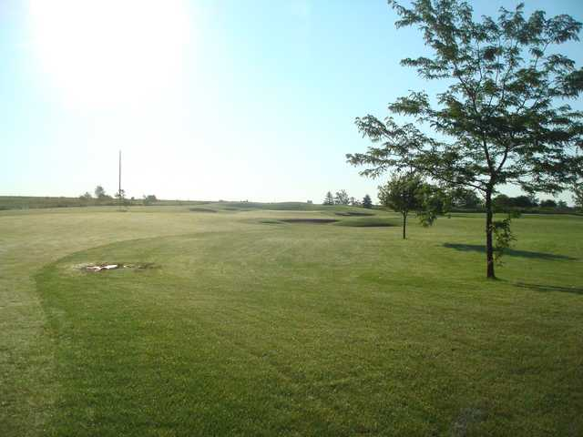 A view of a fairway at Jefferson Golf Club