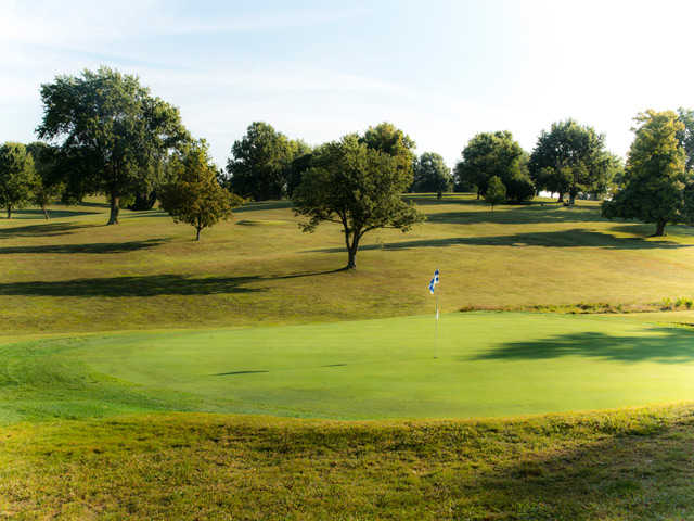 A view of a green at Maysville Country Club