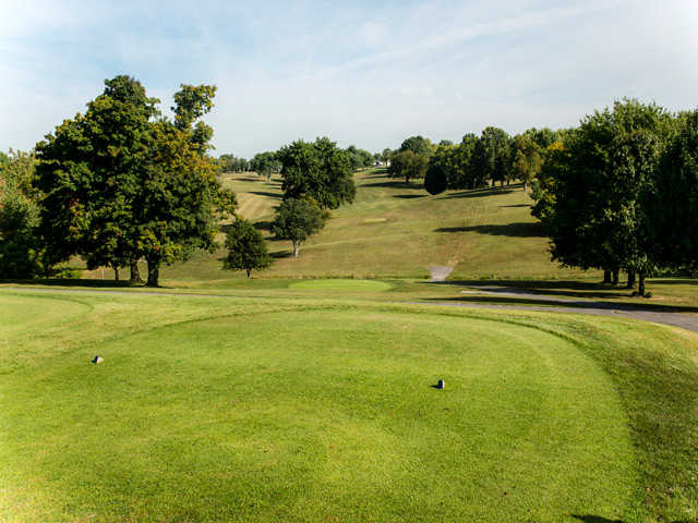 A view from a tee at Maysville Country Club