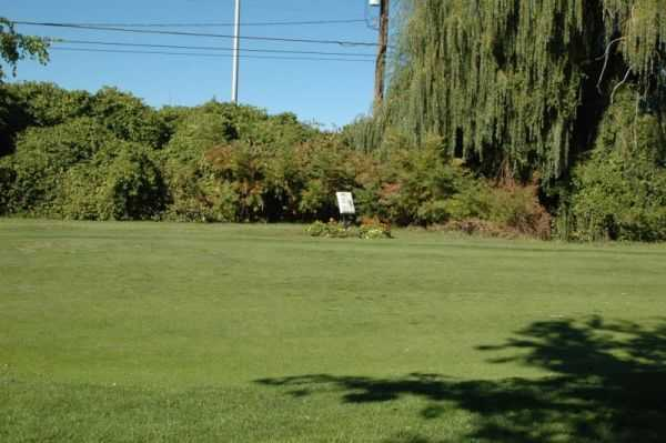 A view of a fairway at Whispering Willows