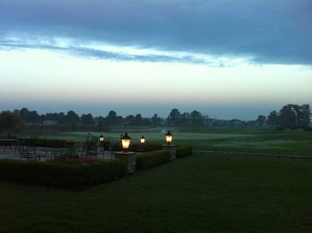 An evening view from Golf Club of Dublin