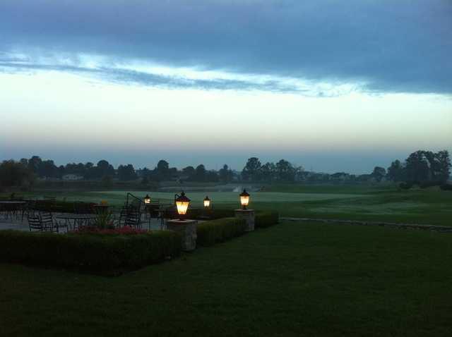 An evening view from Golf Club of Dublin