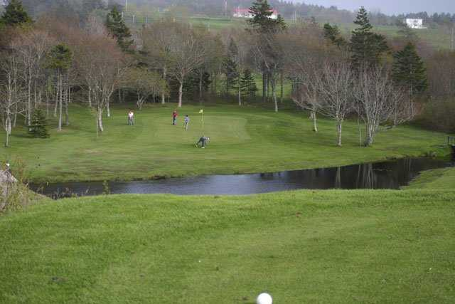 A view from a tee at Clare Golf and Country Club