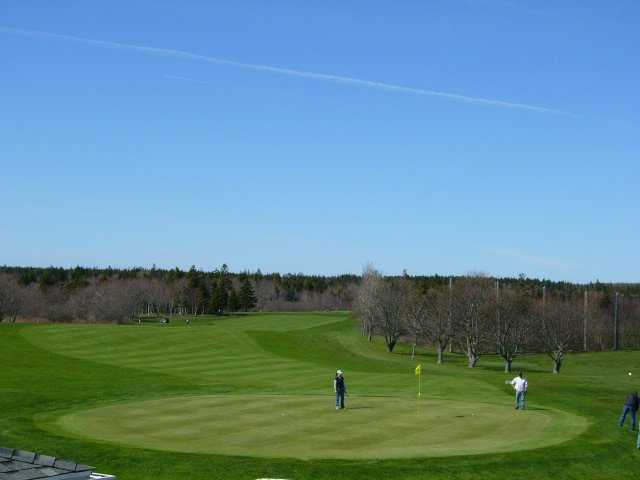 A view of a green at Clare Golf and Country Club