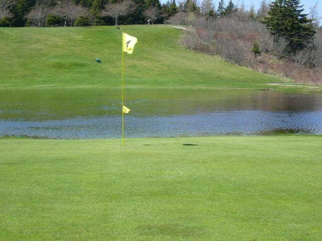 A view of a hole at Clare Golf and Country Club