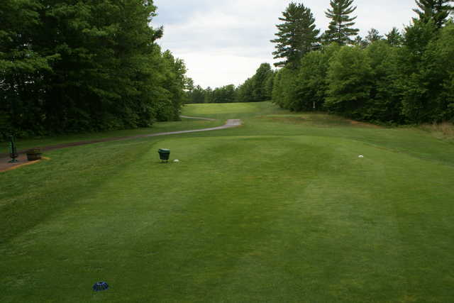 A view from tee #4 at St. Germain Golf Club