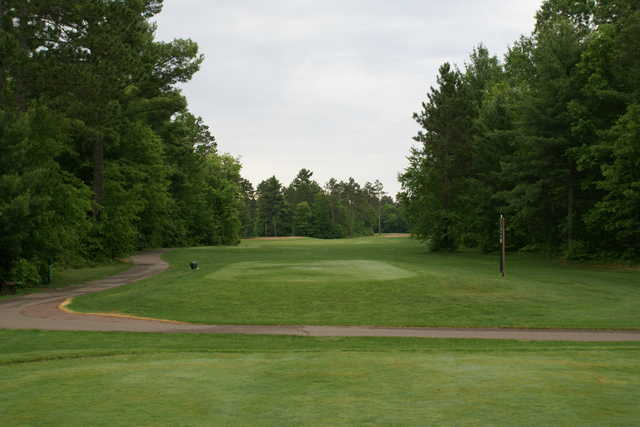 A view from the 8th tee at St. Germain Golf Club