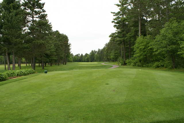 A view from the 1st tee at St. Germain Golf Club
