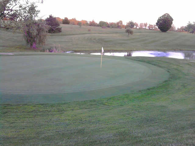 A view of a green at Henry County Country Club