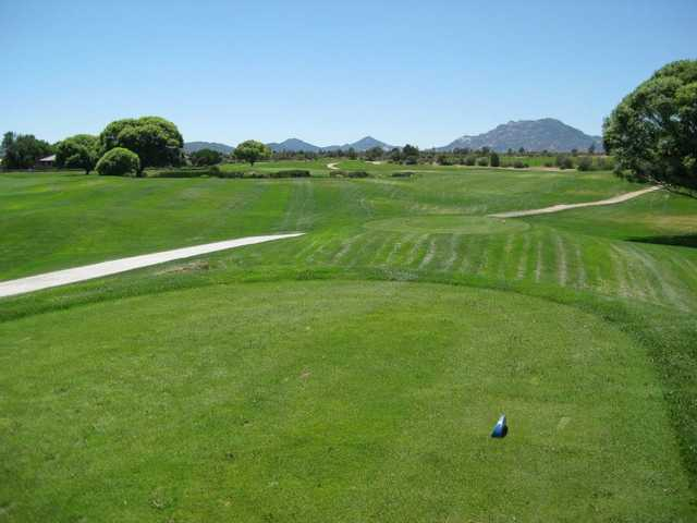 A view from tee #7 at South from Antelope Hills Golf Course