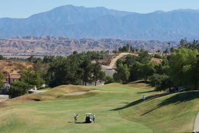 A view of a fairway at Rancho Del Sol Golf Club