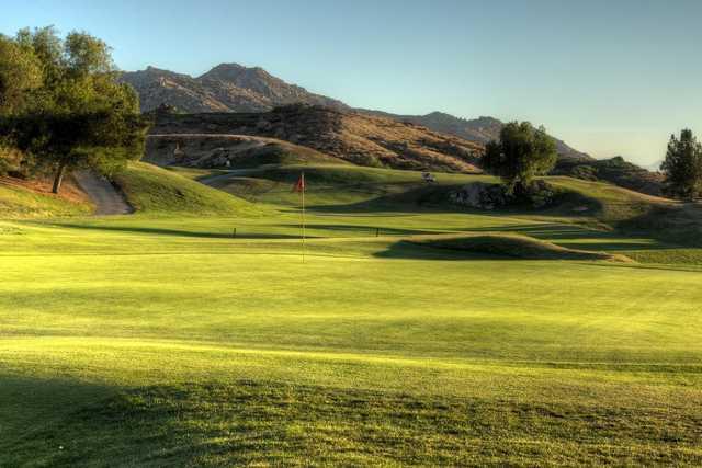 A view of a hole at Rancho Del Sol Golf Club