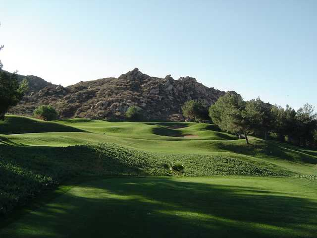 A view from a tee at Rancho Del Sol Golf Club