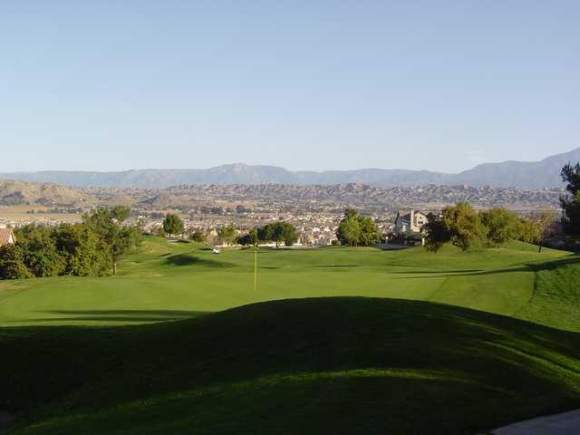 A view from Rancho Del Sol Golf Club