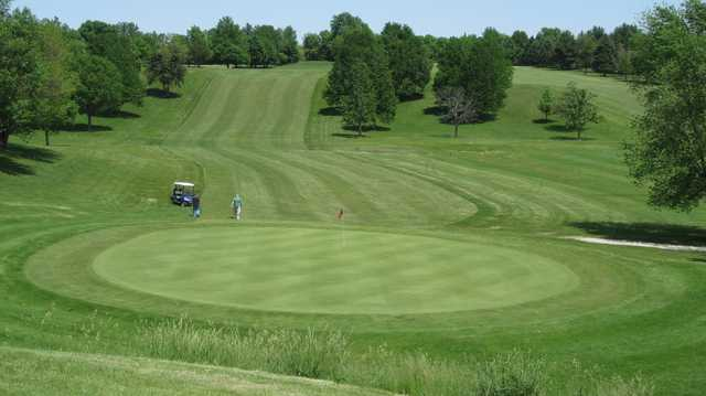 View of the 5th green at Briggs Woods Golf Course