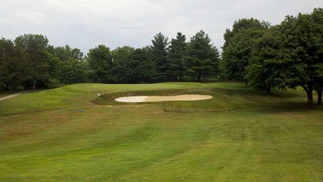 A view from Briggs Woods Golf Course