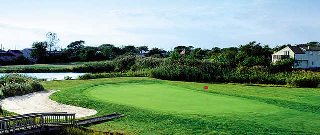 A view of a green from Brigantine Golf Links