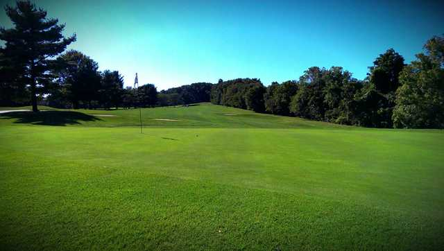 A view of a hole at Hawk Valley Golf Club