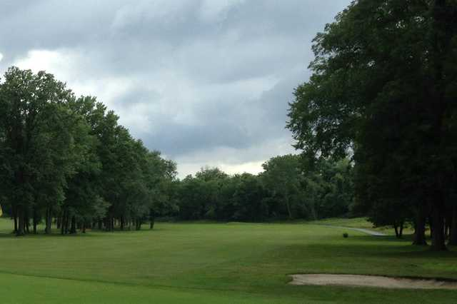 A view of a fairway at Preakness Valley Golf Course