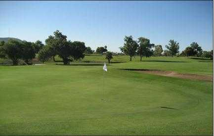 A view of a green at Cave Creek Golf Course (GolfDigest)