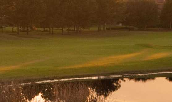 A view over the water from White Springs Golf Club