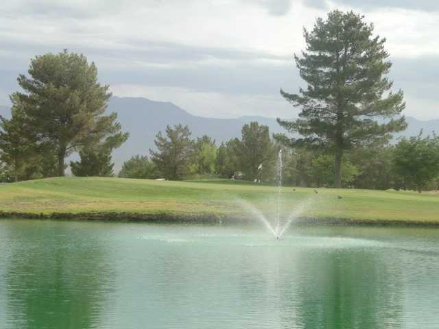 A view over the water from Lake View Golf Course