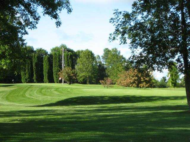 A sunny day view from Maple Creek Golf Club