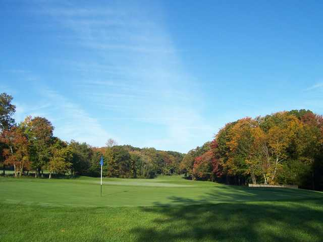 A view of a green at Darlington Golf Course