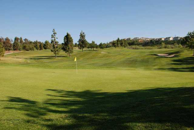 View of a green at Westridge Golf Club