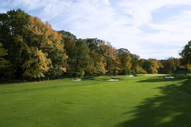 A view of the 4th fairway at Montammy Golf Club