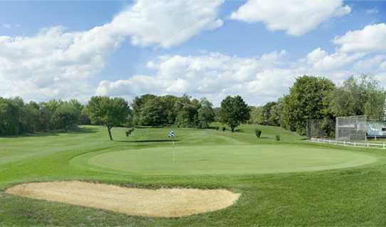 A view of a green at Scotch Hills Country Club