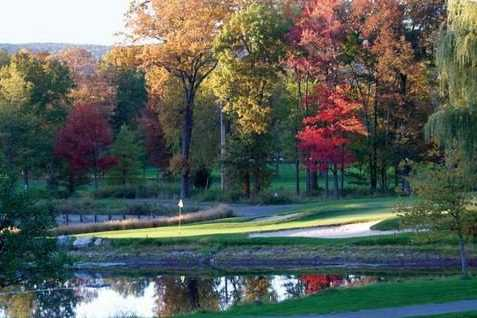 A fall view from Spook Rock Golf Course
