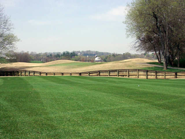 A view from a fairway at Egwani Farms Golf Course