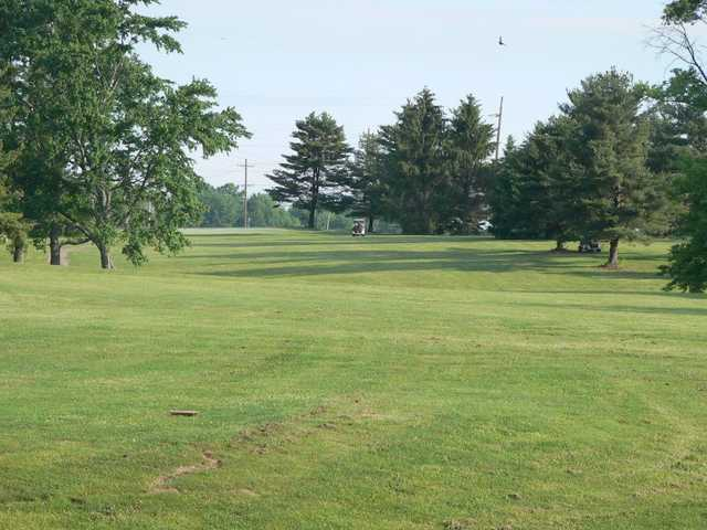 A view of a fairway at Buttermilk Falls Golf Course