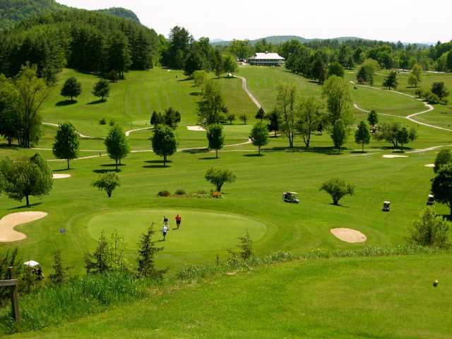 A view from a tee at Lake St. Catherine Country Club