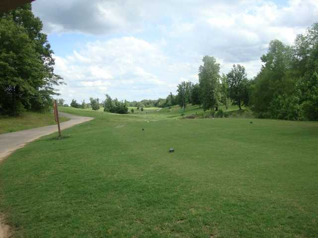 A view from a tee at Bent Tree Golf Club