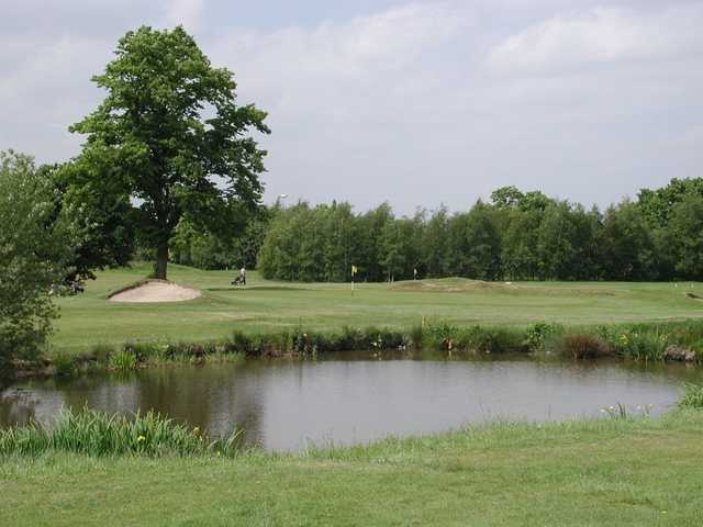 The tricky 3rd at Altrincham Golf Course
