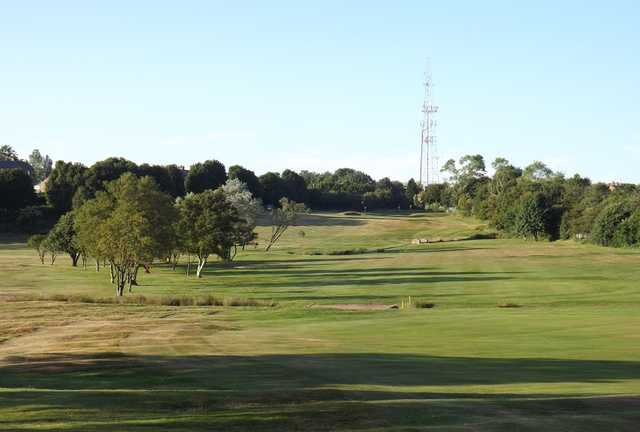 A view of the 12th fairway at Ravensworth Golf Club