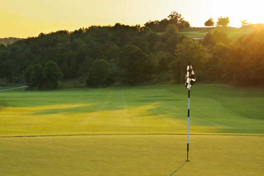 A view of a hole at Exeter Country Club